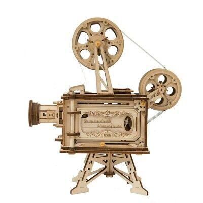 "ROKR 3D-Holz-Puzzle Filmprojektor ""Vitascope"" Modellbausatz"