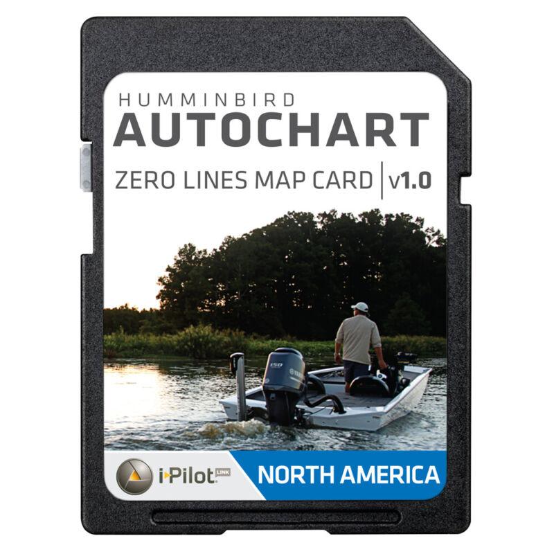 Humminbird AutoChart Zero Lines Map Card - 600033-1