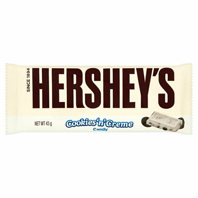 Hershey's White Chocolate Bar 43g x 36 Bars US Import American Candy Only £24.99 ()