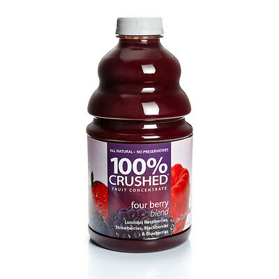 Dr. Smoothie 100% Crushed Four Berry Smoothie Concentrate (46oz (Fruit Smoothie Concentrate)