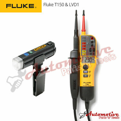 Genuine Fluke Lvd1 T150 Voltage Continuity Electrical Lcd Two Pole Tester