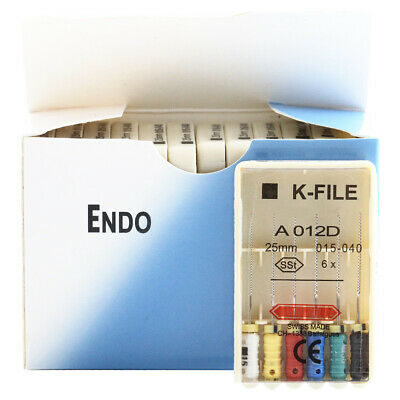 10 Packs Dental K-file 212531mm Endodontic Hand Use Root Canal Files All Types