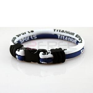 Power-Ionic-Ion-Titanium-Sports-2-Ropes-Colors-Bracelet-Balance-Wristband-Energy