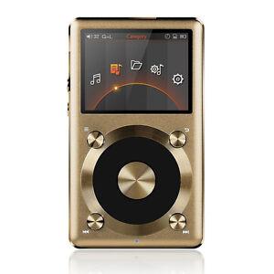 FiiO-X3-II-2nd-Gen-Portable-High-Res-APE-FLAC-WMA-WAV-DSD-Audio-Player-Gold
