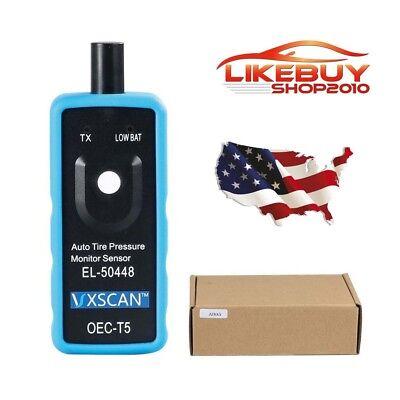 Ship From Us Vxscan Tpms Reset Tool El50448 Auto Tire Pressure Monitor Sensor