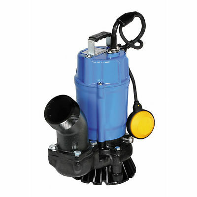 Nib Tsurumi Hsz3.75s 2 Automatic Submersible Trash Pump 3120gph 12hp
