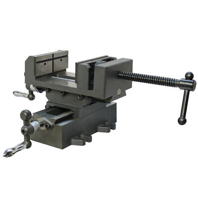 2 Way 4 Drill Press Cross Slide X -y Compound Clamp Vise Metal Milling Vice
