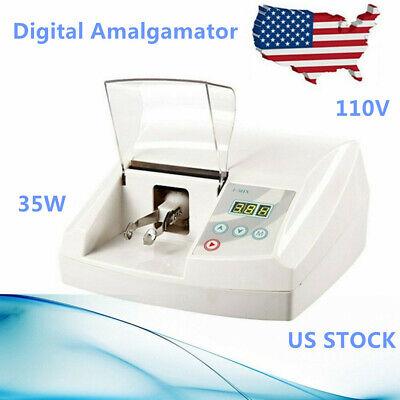 35w Dental Digital Amalgamator Amalgam Capsule Mixer High Speed Lab Imix Us Ship