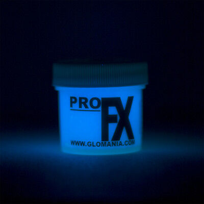 Blue Glow Paint (BLUE Glow in the Dark Paint 1-2oz pot, luminescent, star ceiling, cosmic)