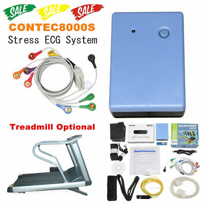 Contec8000s Stress Ecg Systemswireless Exercise 12lead Ecg Recorder Pc Software