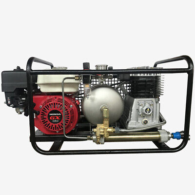 Scuba Diving Air Compressor Honda Gasoline Pump Directly Breath Whoseregulator