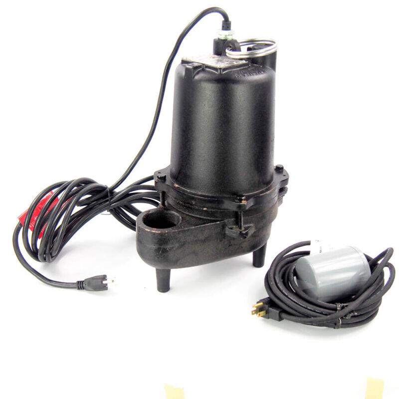 Dayton 3BB88 1/2 HP Submersible Sewage Pump