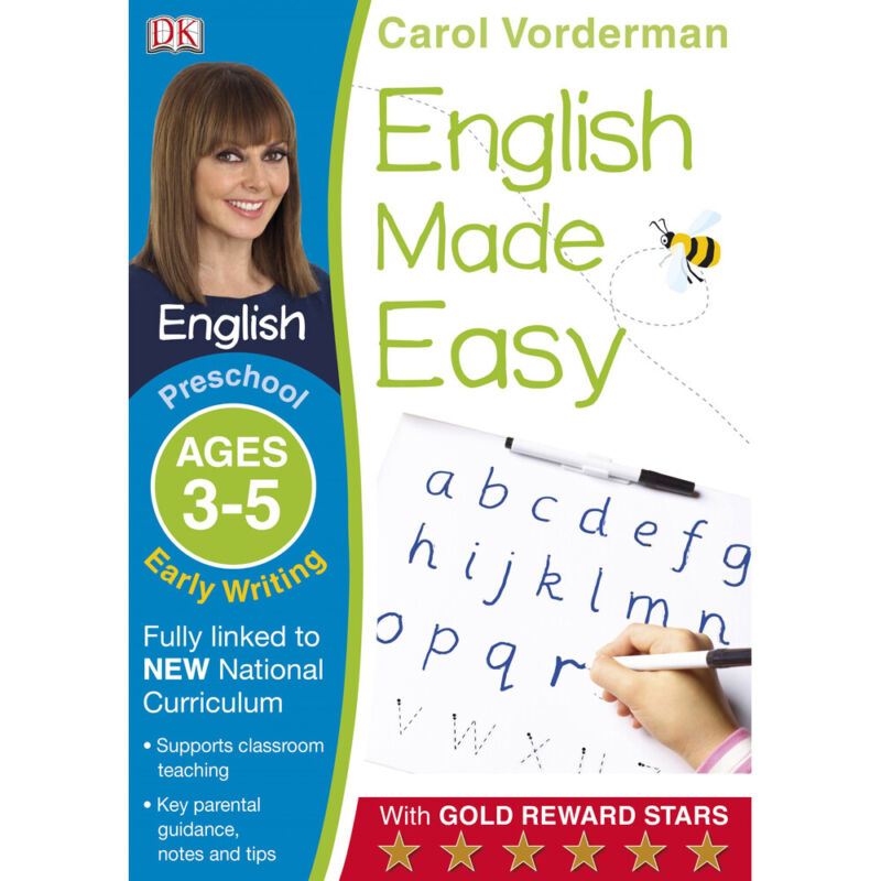 English+Made+Easy+Early+Preschool+Writing%3A+Ages+3-5+%28Paperback%29%2C+Books%2C+New