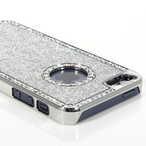 LUXURY CRYSTAL DIAMOND GLITTER BLING CASE FOR NEW iPHONE 5S 5 iPHONE 4 4S COVER