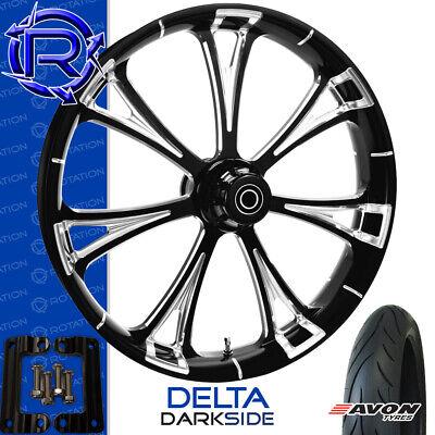 Rotation Delta DarkSide Motorcycle Wheel Kawasaki Vaquero Vulcan Package 21