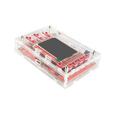 "Durable Clear Acrylic Case Shell Box for DSO138 2.4"" Digital Oscilloscope TE640"