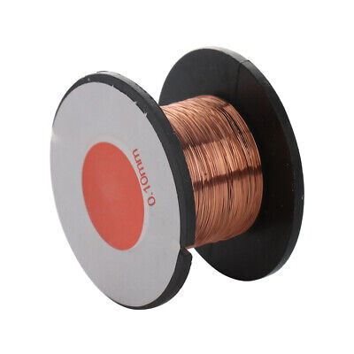0.1mm Copper Soldering Solder Ppa Enamelled Reel Wire Roll Cell Phone Pc Repair