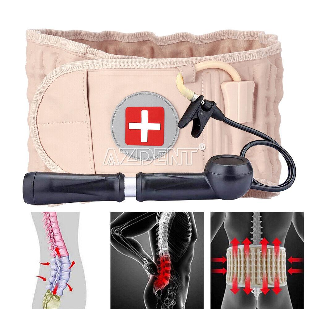 Lumbat Traction Decompression Belt Spine Correction Back Braces & Lumbar Support