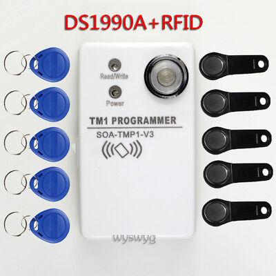 Upgrade SOA TMP1 V3 TM DS1990A iButton EM4100 Copier Duplicator +5RW1990 +5RWEM