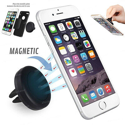 Car Magnetic Air Vent Mount Holder Stand For Phone iPhone 6 Plus Samsung GPS