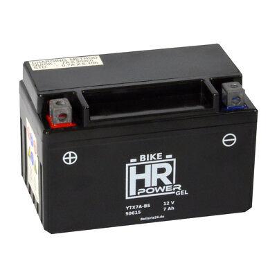 Motorradbatterie Gel 12V 7Ah 50615 YTX7A-BS CTX7A-BS *NEU*