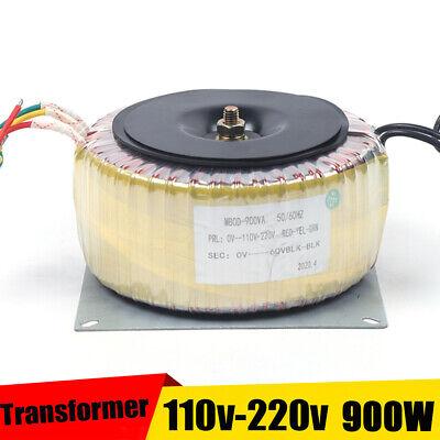 900w 15a Toroidal Power Transformer 45hz-60hz Output 60v Input Ac110v-ac220v