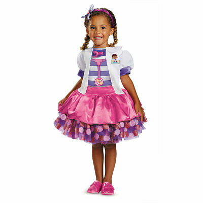 Toddler Doc Mcstuffins Tutu Deluxe Costume Sz 4-6x