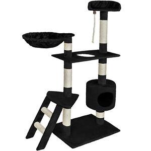 Cat-Kitten-Scratching-Post-Tree-Scratcher-Bed-Activity-Centre-Climbing-Toy