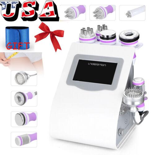 Pro 8in1 40K Cavitation Vacuum Multipolar RF Cold Hammer Body Cellulite Slimming