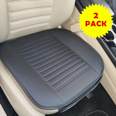 2PCs Car Seat Cushion Pad Vehicle Cooler Cover Summer Cooling Chair Fan  Black Summer Seat Cushion