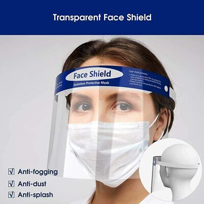 Safety Protective Splash Proof Full Head-Mount Face Eye Shield Fisherman Shield