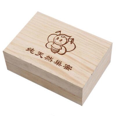 250g Wooden Bee Honey Cassette Box Beekeeping Equipment