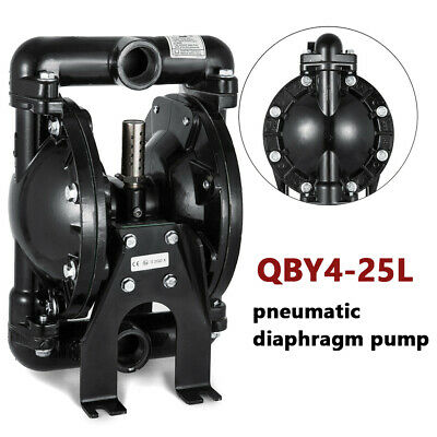 35gpm Qby4-25l Aluminum Air-operated Double Diaphragm Pump 1 Inch Inlet Outlet