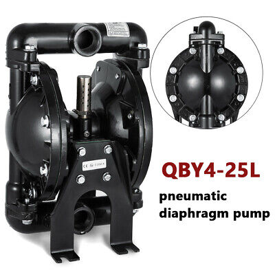 1 Inlet Outlet Air-operated Double Diaphragm Pump For Water Diesel Oil 35 Gpm