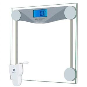 NEW Etekcity Digital Bathroom Body Weight Scale, High Precision Smart Step-on Technology, Tempered Glass, Backlit Dis...