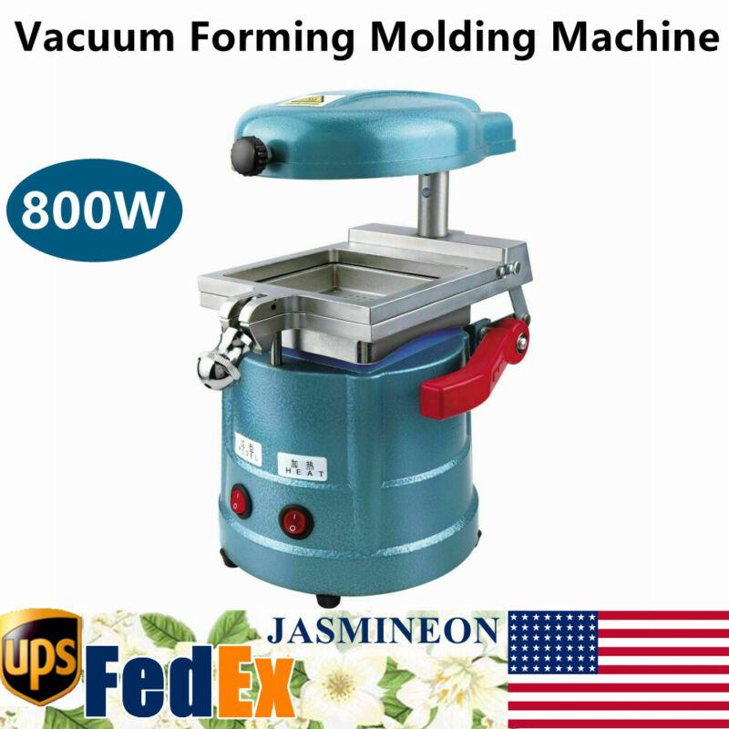 Dental Vacuum Forming Molding Machine Lab Former Thermoforming Machine 800W 110V