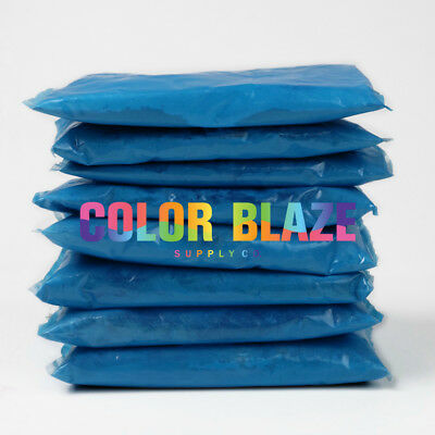 Gender Reveal Color Powder Packets - 10 Blue Color Powder Packets Powder Blue Color