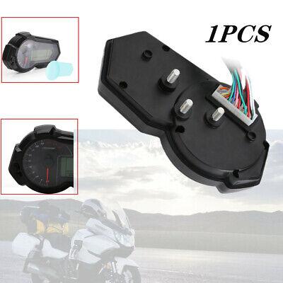 12V ABS Plastic Motorcycle Digital Gauge Fuel / Tacho /Odo Meter Kmh Indicator