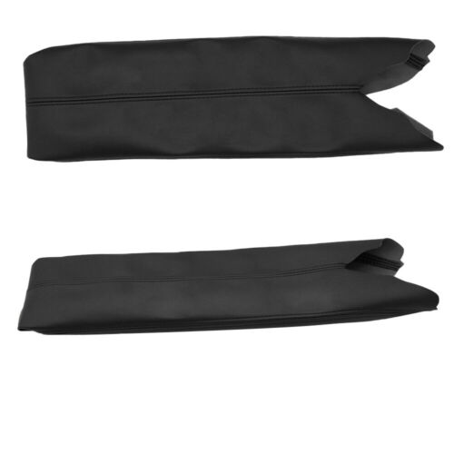 Center Console Lid Armrest Cover Skin Synthetic Leather
