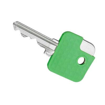 chlüsselkappen eckig Kunststoff Schlüsselanhänger 25 Stück! (Kunststoff-schlüsselanhänger)