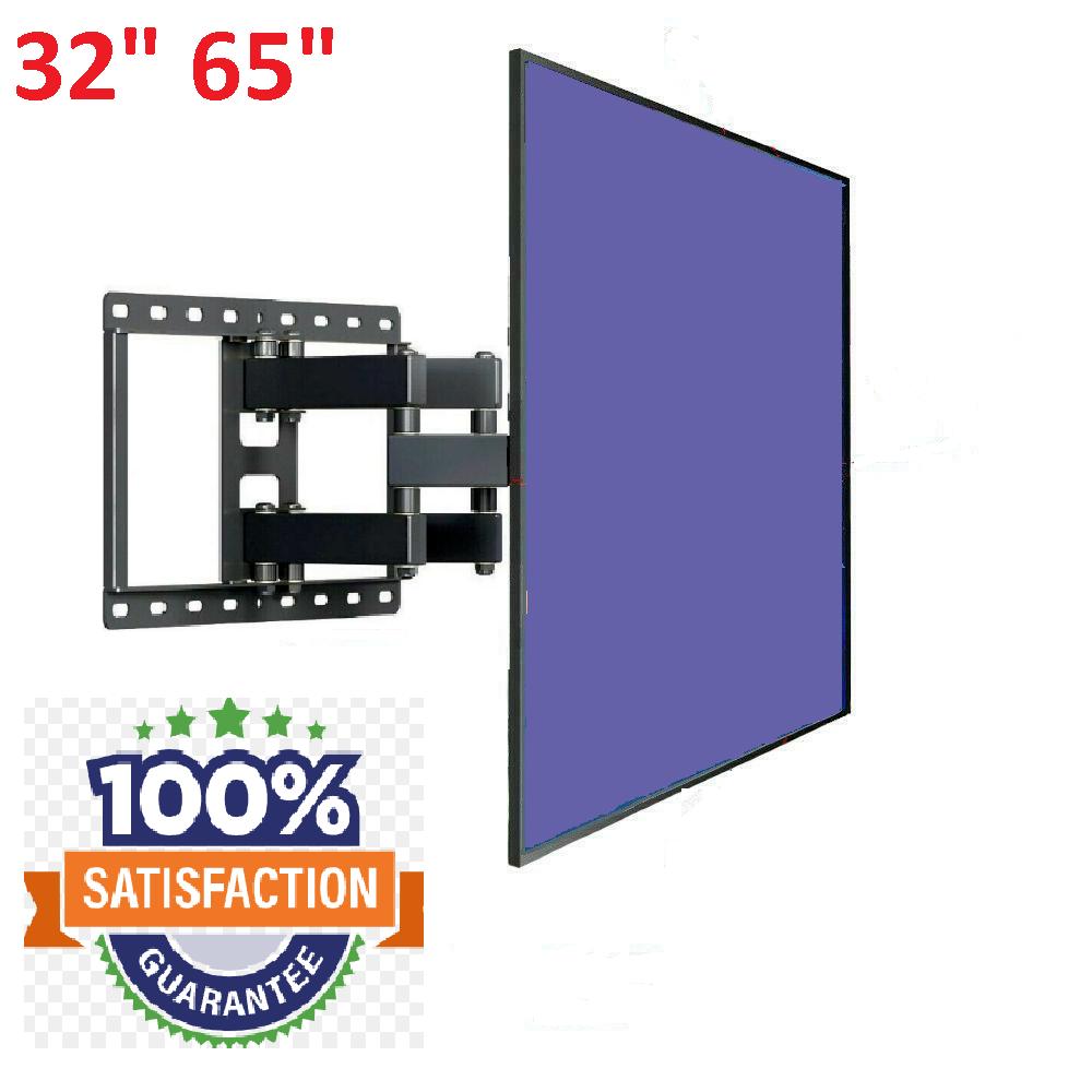 TV Wall Mount Bracket Full Motion Tilt Swivel Fits 32 40 47