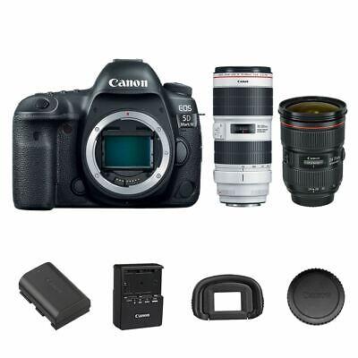 Canon EOS 5D Feature IV DSLR + 24-70mm f/2.8L II + 70-200mm f/2.8L IS III