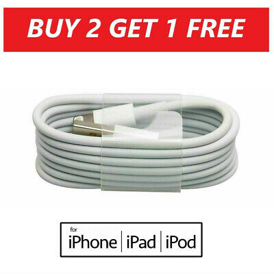 USB iPhone Charger Fast For Apple Long Cable USB Lead 5 6...