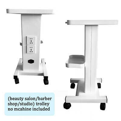 Beauty Cart Stand Trolley Cart Stand Beauty Instrument Rolling Cart W Socket Us