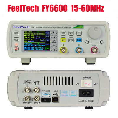 Feeltech 2-ch Dds Signal Generator Kit 14bits 250msas Sine Square Pulse