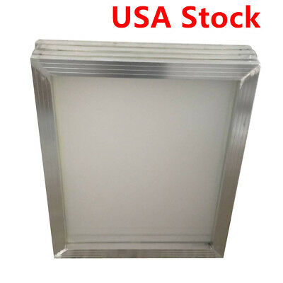 Usa 6pcs -18 X 20aluminum Screen Printing Screens With 110 White Mesh Count