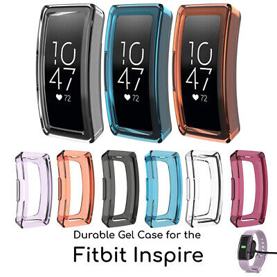 Screen Protector Durable Silica Gel Case for Fitbit Inspire Sports Tracker Silica Gel Case