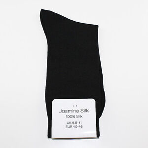 New Luxury Men's Silk Socks Evening socks Thermal socks