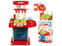 KIDS TOY COOKER AND KITCHEN ACCESSORY SET