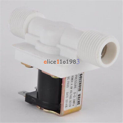 12 Nc Dc 12v Magnetic Electric Solenoid Valve Water Air Inlet Flow Switch